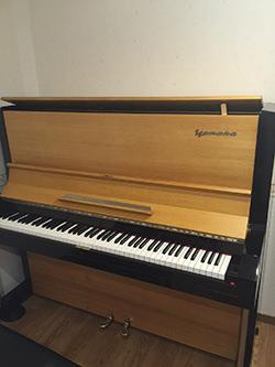 ヤマハのアップライトピアノU3B